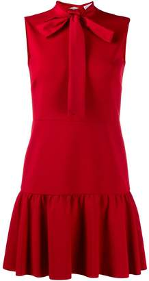 RED Valentino RED(V) pleated dress