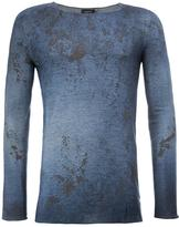 Avant Toi distressed jumper - men - Silk/Polyester/Cashmere - L