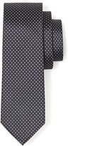 Celio Men's Polka Dot Neck Tie - Blue -