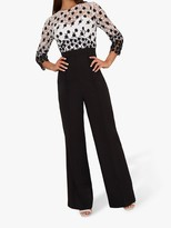 Chi Chi London Aisling Jumpsuit, Black/Multi