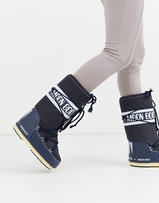 Moon Boot Nylon Icon snowboots in blue