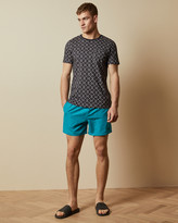 Ted Baker CHEEF Plain swim shorts with back pocket