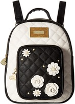 Betsey Johnson Quilted Winged Heart Backpack