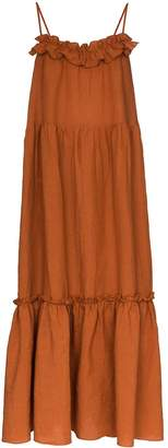 Araks Yasmin tiered maxi dress