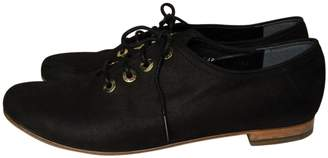 Gaspard Yurkievich Black Leather Lace ups
