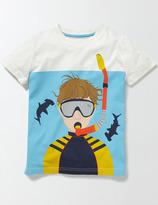 Boden Underwater Logo T-shirt
