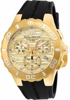 Technomarine Men's TM-115079 Cruise Medusa' Swiss Quartz with Black Strap