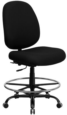 Laduke Drafting Chair Symple Stuff Arms: Not Included