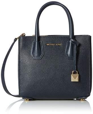Michael Kors Mercer Medium Pebbled Leather Accordion Crossbody Women's Cross-Body Bag