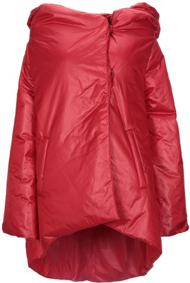 Rose' A Pois Synthetic Down Jackets