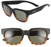 Smith Men's 'Comstock' 51Mm Polarized Sunglasses - Matte Black Fade Tortoise