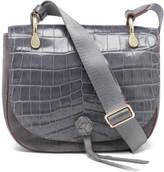 Elizabeth and James Women's Zoe Croc Saddle Bag Puttey