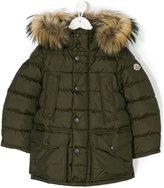 Moncler long line padded jacket