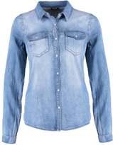 Vila VIBISTA Shirt medium blue denim