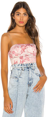 h:ours Monique Bustier Top