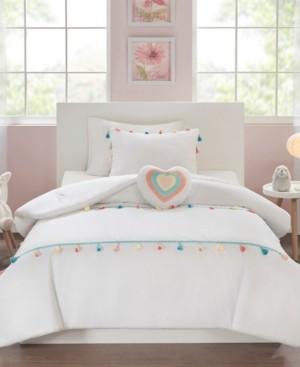 Mi Zone Kids Tessa Twin 3 Piece Tassel Comforter Set Bedding