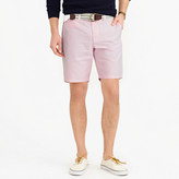 "J.Crew 9"" Short In Pink Oxford Cloth"