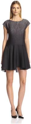 Halston Women's Dropped-Waist Dress
