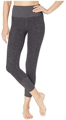 Alo 7/8 Lounge Leggings (Dark Grey Heather) Women's Casual Pants