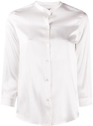 Blanca Vita Mandarin Collar Shirt