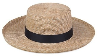 LACK OF COLOR The Violette Straw Boater Hat
