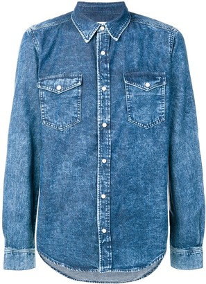 Givenchy Long-Sleeve Denim Shirt