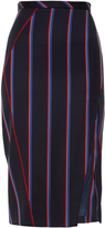 Altuzarra Monro striped wool-blend pencil skirt