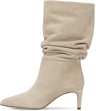 Paris Texas 60mm Slouchy Suede Boots