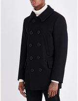 Tom Ford Double-breasted Wool-blend Peacoat