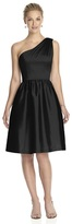Alfred Sung D530 Bridesmaid Dress in Black