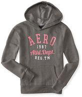 Aeropostale Womens Aero Athletic Dept Popover Hoodie