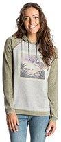 Roxy Juniors Palm Bazaar Best of Time Fleece Sweatshirt