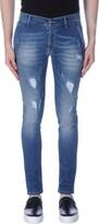 Grey Daniele Alessandrini Denim pants - Item 42598583
