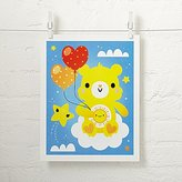 Care Bears Funshine Bear Unframed Wall Art