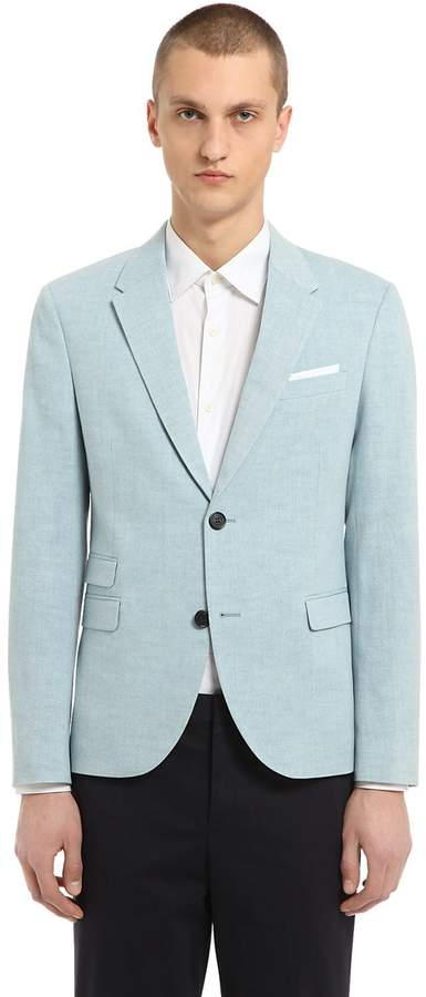 Neil Barrett Cotton Denim Jacket
