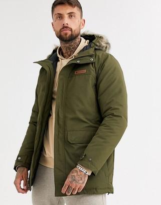 Columbia Marquam Peak parka jacket in green
