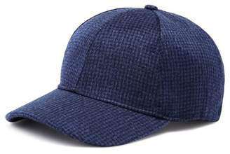 Bloomingdale's The Men's Store at Cashmere & Wool Checked Baseball Cap