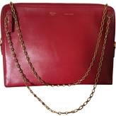 Celine Clutch bag with detachable double chain