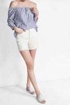 Velvet Striped Cotton Blouse