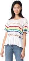 Wildfox Couture South Beach Stripe Top