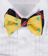 Daniel Cremieux Turtles Silk Bow Tie