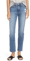 Frame Women's High Rise Straight Leg Jeans