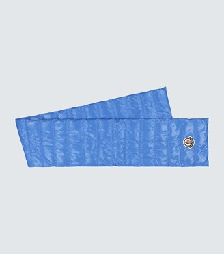 Moncler Padded nylon laque scarf