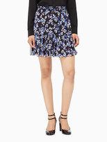 Kate Spade Hydrangea chiffon skirt