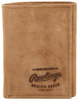 Rawlings Sports Accessories Double Steal Tri-Fold Suede Wallet