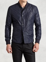 John Varvatos Nylon Quilted Jacket