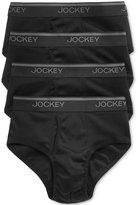 Jockey Men's Tagless StayCool Briefs, 4 Pack