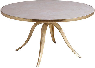 Artistica Crystal Stone Coffee Table - White/Gold