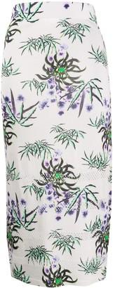Kenzo Floral-Print Pencil Skirt