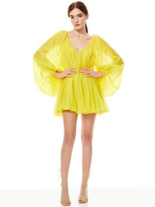 Tallie Deep V Mini Dress